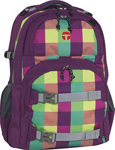 Preisvergleich Produktbild Take It Easy Schulrucksack OSLO-FLEX Soho 482210 grün/lila