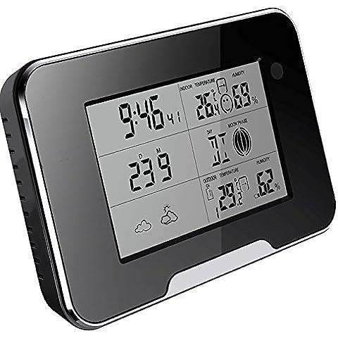 Cámara Wi-Fi HD 1080P de la estación meteorológica IP espía de detección de movimiento con la tarjeta SD de 32