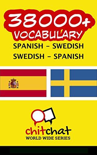 38000+ Español - Sueco Sueco - Español vocabulario por Jerry Greer