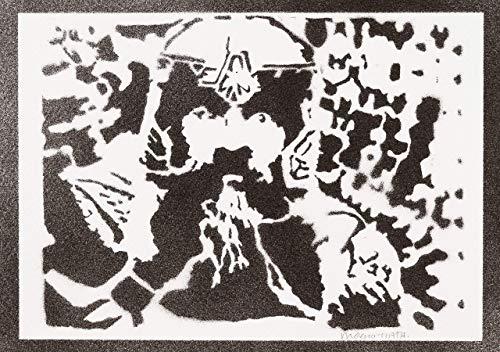 Gimli Herr Der Ringe (The Lord Of The Rings) Poster Plakat Handmade Graffiti Street Art - Artwork