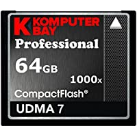 Komputerbay 64GB COMPACT FLASH CARD CF professionale