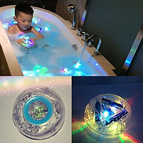 Make Bath Time Fun Color Changing Kids Bath Funny LED Light Toy Party in the Tub by WANGSAURA
