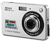 AbergBest Fotocamera digitale 2,7' schermo LCD Videocamera...