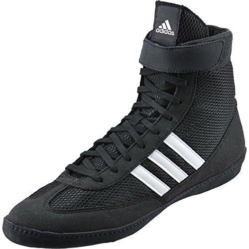 Adidas Kampf Geschwindigkeit 4 Youth Wrestling Schuhe Bahia Blau / lime Grö�e 1.5 Black / White / Black
