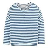 Cleptomanicx Damen Sweatshirt Henni Stripe Directoire Blue L