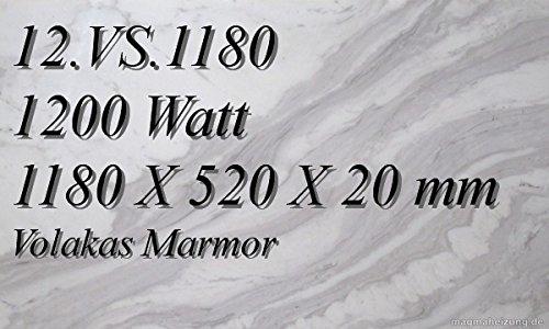 CALEFACCION POR INFRARROJOS–CALEFACTOR DE INFRARROJOS ELECTRICO (MARMOL MAGMA CALEFACCION 1200W 12  VS 1180