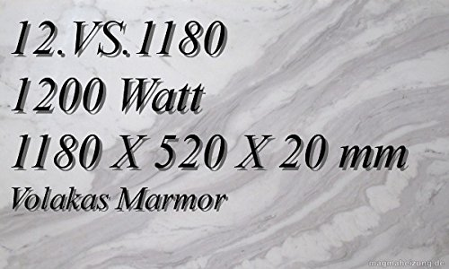 Infrarotheizung Marmorheizung Elektroheizung Infrarotheizkörper Magmaheizung 1200 Watt 12.VS.1180