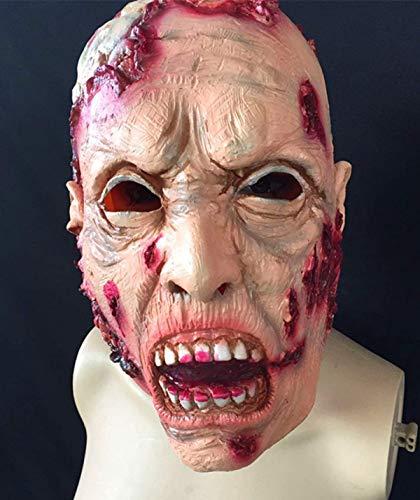 Xiao-masken Neue Halloween Erwachsene Maske Zombie Maske Latex Bloody Scary Extrem Ekelhaft Vollgesichtsmaske Kostüm Party Cosplay Spielzeug Cap Helm