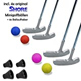 Minigolfset FAMILY XL - 12-teilig  und 4x Minigolf-Pick-Up