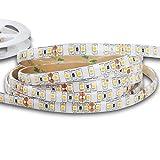 Mextronic LED Streifen LED Band LED Strip 3528 Warmweiß (2700K) 48W 500CM 24V IP44