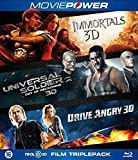3D Action Collection ( Immortals / Universal Soldier: Day of Reckoning / Drive Angry ) (3D) [ Blu-Ray, Reg.A/B/C Import - Netherlands ]