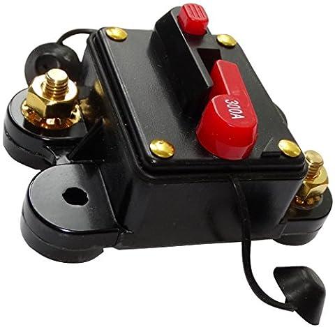 AERZETIX: 300A 12V 24V 32V 48V fusible automatique disjoncteur 78x52x37mm IP67 ampli amplificateur auto voiture C14617