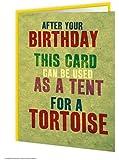 Tortoise Tent Birthday Card