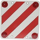 Warntafel für Caravan rot/weiß mit Reflektor