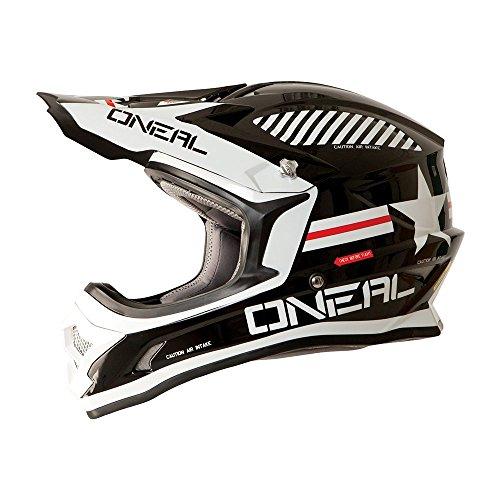 0623A-224 - Oneal 3 Series Afterburner Motocross Helmet L Black
