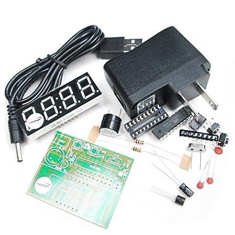 Horloge Kit - Hiletgo Electronic Production Suite 51électronique quatre Horloge