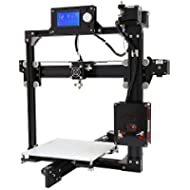 SainSmart S2 Plus Desktop 3D Printer DIY Kit w/SD-Card Reader/USB 2.0/ Cable/LCD Display Prusa i3 High Accuracy CNC Black EU Plug