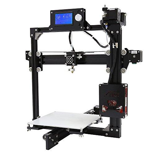 Elepawl 3D Drucker, 0,1-0,2mm Druck Präzision Unterstützung Offline Druck Desktop Computer Extruder Verbessertes Mainboard 220*220*220mm Druck Größe Aluminium Heizplatte EU-Stecker