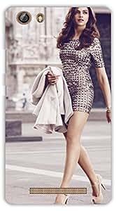 Crazy Beta Dipika Padukone Bollywood Heroine Printed Back Cover For Gionee Marathon M5