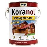 Koranol Imprägnierlasur Aussenlasur Holzschutzlasur Silbergrau 0,75L