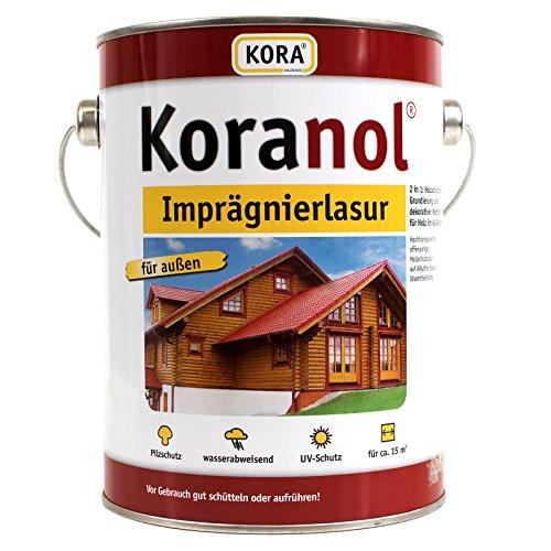 Koranol Imprägnierlasur Aussenlasur Holzschutzlasur Kastanie 0,75L