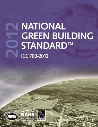 National Green Building Standard 2012 (International Code Council Series) by National Association of Home Builders (NAHB) (2013-04-15)