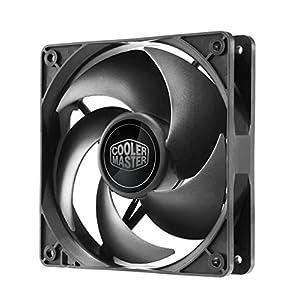Cooler Master Silencio FP 120 PWM Case Fan '800-1400 RPM, 120mm, Loop Dymanic Bearing' R4-SFNL-14PK-R1
