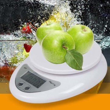 5kg/1g Digital LCD Electronic Kitchen Postal Scales Food Baking Weight Scale