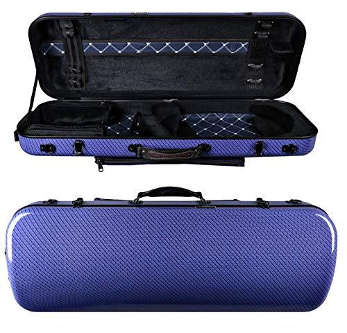Originale Tonareli Custodia per viola rettangolare 36-43 cm BLUE CHECKERED VAFO1005 EDIZIONE SPECIALE - VENDITORE AUTORIZZATO