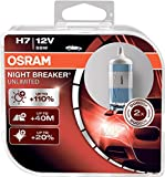 OSRAM NIGHT BREAKER UNLIMITED H7, proiettori alogeni per auto,...