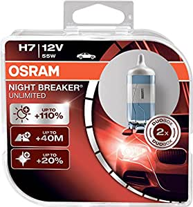 osram h7 p64210 night breaker unlimited nbu duo box 12v 55w car motorbike. Black Bedroom Furniture Sets. Home Design Ideas