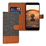 kwmobile Hülle für Elephone P9000 - Wallet Case Handy