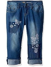 LEE Girls' Fashion Skinny Capri Jean