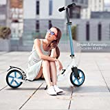 Best Adult Scooters - Scallop Adult Scooter with 3 Seconds Easy-Folding System Review