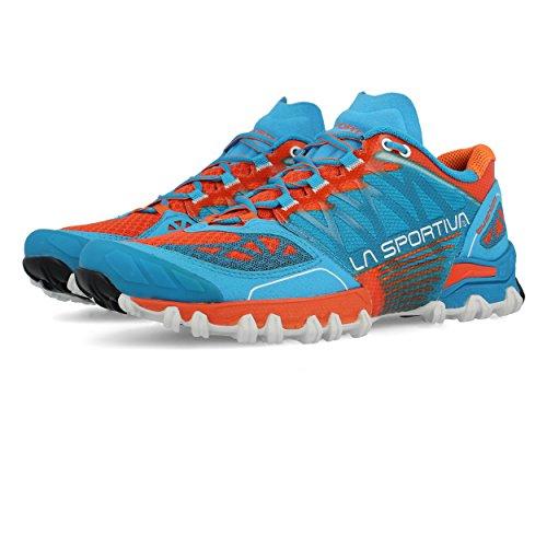 La Sportiva Bushido - Zapatillas para correr - naranja/azul Talla 45 1/2 2017