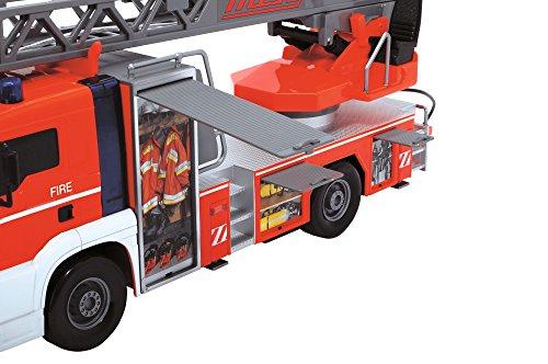 RC Auto kaufen Feuerwehr Bild 2: Dickie Toys 203719000 - Fire Patrol, kabelgesteuertes Feuerwehrauto, 50 cm*
