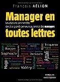 Image de Manager en toutes lettres