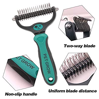 Petgrow Pet Bath & Massage Brush, Grooming Tool for Shampooing and Massaging Dogs and Cats by Petgrow