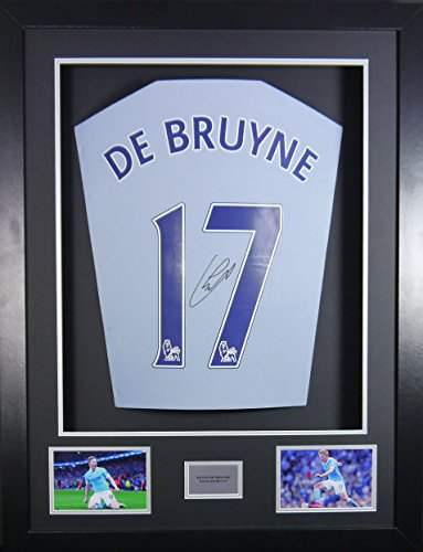 Kevin-De-Bruyne-Manchester-City-Signed-Shirt-3D-Framed-Display-with-COA