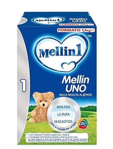 Mellin 1 Latte in Polvere per Lattanti - 3 Confezioni x 1100