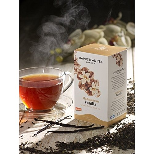 Hampstead Tea Organic Black Vanilla - 1 x 20 Sachets