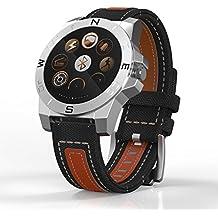Marrone Smart Watch intelligente pedometro braccialetto cuore monitor sonno monitor contapassi attività fitness tracker per Android Smartphone Samsung Huawei LG