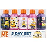 Minions 5-Tage-Set Bade und Duschgel, 1er Pack (1 x 1 Stück)