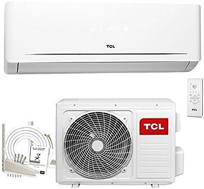 TCL HC 9000 BTU aire acondicionado Split A (2.6 kW, 5m Líneas, Soporte, hasta -15° C, Revestimiento de oro)
