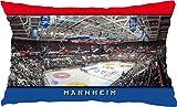 Blue-Letter Eishockey Mannheim Stadionkissen (60 cm x 40 cm)