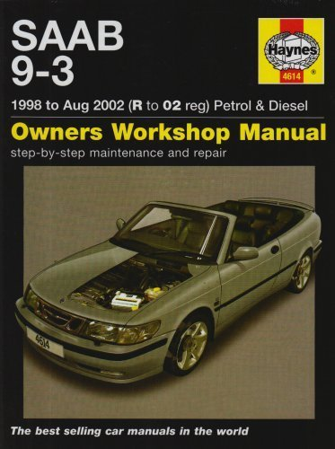 saab-9-3-petrol-and-diesel-service-and-repair-manual-by-ak-legg-2007-hardcover