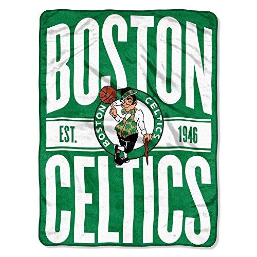 The Northwest Company NBA Boston Celtics Micro Raschel Überwurf, Einheitsgröße, Multicolor
