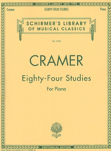 Johann Cramer: 84 Studies for Piano Piano (Schirmer's Library of Musical Classics)