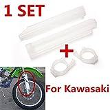 FidgetGear Fourche Avant Clips de Protection pour Kawasaki KLX 250R 300R 650R KDX200