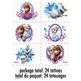 Disney Frozen Tattoos, 24ct